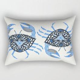 Blue Crab Rectangular Pillow