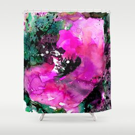 Floral Enchantment No.10a by Kathy Morton Stanion Shower Curtain
