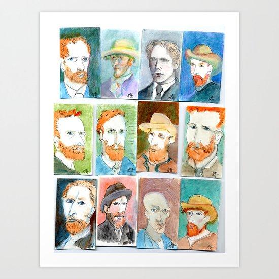 Van Gogh 2 Art Print