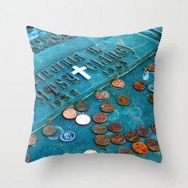 R.I.P. Patsy Cline Throw Pillow