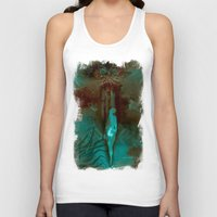 "surrealism Tank Tops featuring ""The Gate"" Dark Surrealism by judgehydrogen"