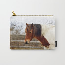 Painted Pinto Pony Carry-All Pouch