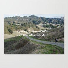 Thousand Miles Canvas Print