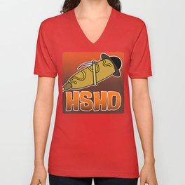 Horrorshow Hot Dog Logo - Children of the Corndog variant Unisex V-Neck