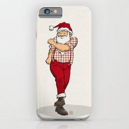 Skanking Santa iPhone Case