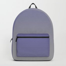 Grayish Blue Gray Ombre Backpack