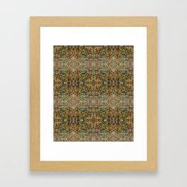 Into the Doodlabyss Framed Art Print