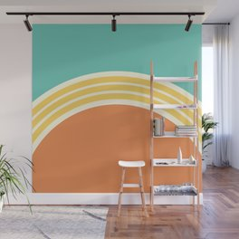 one day – ice cream shop Wall Mural