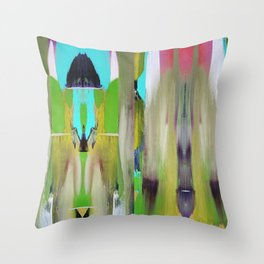 Forest love Throw Pillow