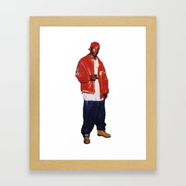 Big L  Framed Art Print