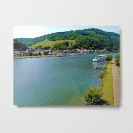 Moselle river Germany Metal Print