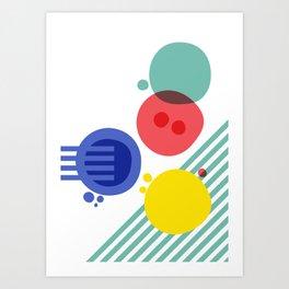Cellular Evolved IV Art Print