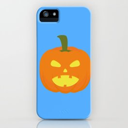 Halloween Pumpkin light iPhone Case