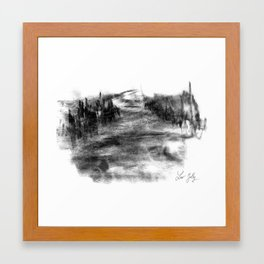 Where I am Framed Art Print