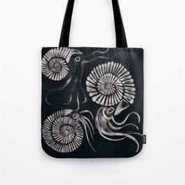 ammonites Tote Bag