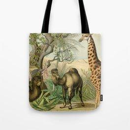 Giraffe and Friends Tote Bag