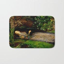 "John Everett Millais ""Ophelia"" Bath Mat"