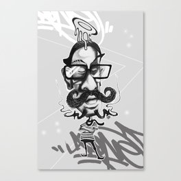 All Hipsters Are Created Equal Canvas Print
