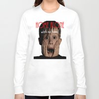 home alone Long Sleeve T-shirts featuring Home Alone by Darius Malone