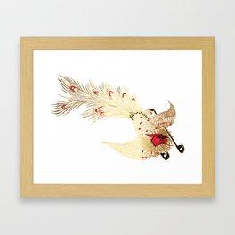 Art bird Framed Art Print