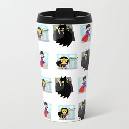 Justice League Unites ! Metal Travel Mug