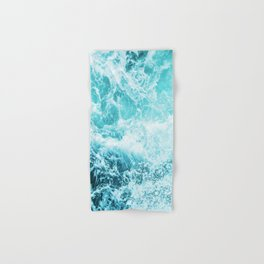 Perfect Sea Waves Hand & Bath Towel