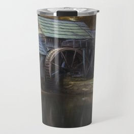 Winter Morning At Mabry Mill Travel Mug