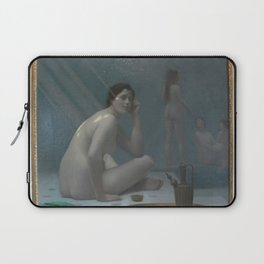 Jean-Leon Gerôme - Femmes au bain Laptop Sleeve