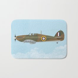 Hawker Hurricane Bath Mat