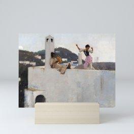 John Singer Sargent - Capri Mini Art Print