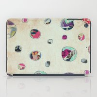 antique iPad Cases featuring Circles (antique) by Natalie Baca