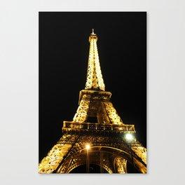 Tour Eiffel Canvas Print
