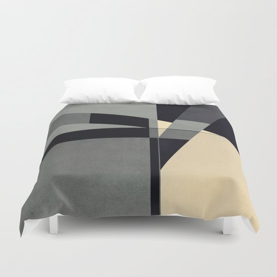 Abstract #102 Duvet Cover