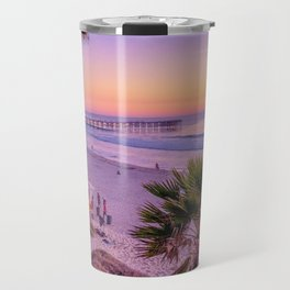Pacific Beach Sunset Travel Mug
