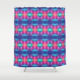 Colorful Sunshine Tie Dye Shower Curtain