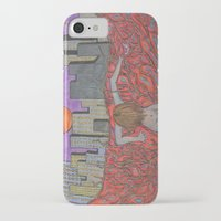 sin city iPhone & iPod Cases featuring Sin Beneath the City by Labartwurx