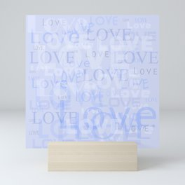 Love is in the air Mini Art Print
