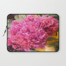 A Pink Celosia Laptop Sleeve