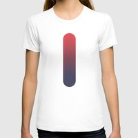 gradient T-shirts featuring gradient by HWAL