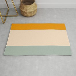 Heracles - Minimal Summer Retro Stripes Rug