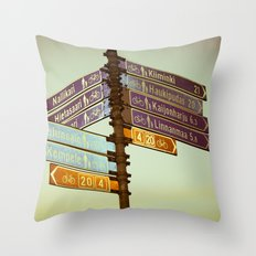Oh, Suomi (Finland) Throw Pillow