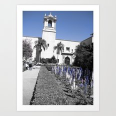 Spring Time in Balboa Art Print