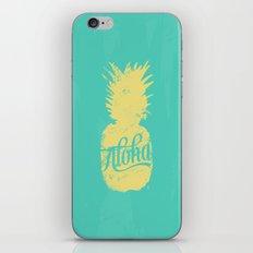 ALOHA - Pineapple print iPhone Skin