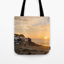 Sunset on the Costa Vicentina, Portugal Tote Bag