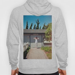 The Girl at the Boathouse - Light Leaked Film Photograph Hoody