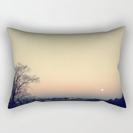 Sunset at SUNY Purchase Rectangular Pillow