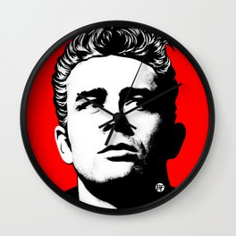 JamesDean01-1 Wall Clock