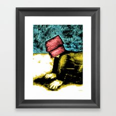DOGHOUSE Framed Art Print