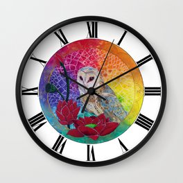 Lakshmi's Vahana ( Bird Whisperer Project Owl ) Wall Clock