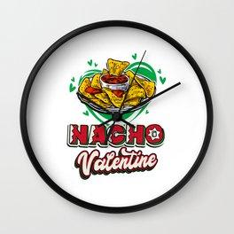 Valentines Food Design - Nacho Valentine Wall Clock